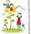 家庭,假期,插圖 44617455