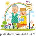 老人,退休,插圖 44617471
