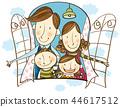 家庭,假期,插圖 44617512