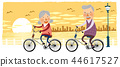 老人,退休,插圖 44617527
