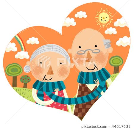 家庭,幸福,插圖 44617535