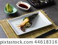 temaki roll with tempura prawns 44618316