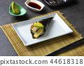 Sushi temaki with shrimp and avocado 44618318