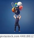 ball, kettlebell, tennis 44618612