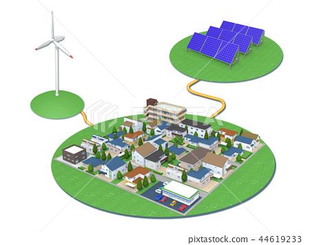 신 재생 에너지 태양 광 발전 풍력 발전 44619233