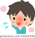 一个把脸变红的男人 44620348