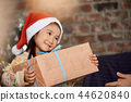 家庭享受聖誕節 44620840