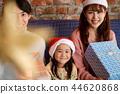 家庭享受聖誕節 44620868