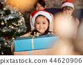 家庭享受聖誕節 44620906