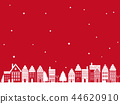 townscape snowy winter 44620910