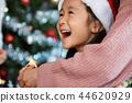 家庭享受聖誕節 44620929