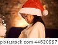 크리스마스를 즐기는 아이 44620997