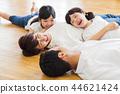 ครอบครัวผู้ปกครองและเด็กครอบครัวเด็กผู้หญิง 44621424