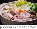 chicken, pot, food 44621541