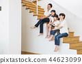 가족 부모 가족 여성 아이 44623099