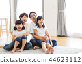 ครอบครัวผู้ปกครองและเด็กครอบครัวเด็กผู้หญิง 44623112