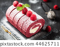 树莓 覆盆子 蛋糕 44625711