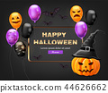 halloween happy colorful 44626662
