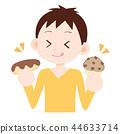 吃小饼松饼的甜人 44633714