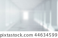 Blurred background of a long corridor 44634599