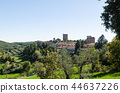 The beautiful Tuscany city Castellina, Italy 44637226