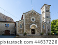 The medieval church in Castellina, Tuscany, Italy 44637228