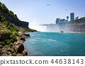 Niagara waterfall in summer view across the border 44638143