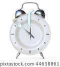 Alarm clock plate 3D 44638861