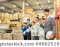 ภาพธุรกิจโลจิสติกส์คลังสินค้า 44662519