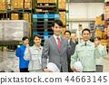 ภาพธุรกิจโลจิสติกส์คลังสินค้า 44663145