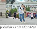 旅行,首爾站,約會,夫婦,首爾廣場 44664241