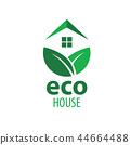 绿色 生态 房屋 44664488