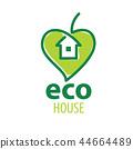 绿色 生态 房屋 44664489