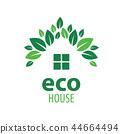 绿色 生态 房屋 44664494