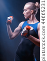 Athletic figure 44665231