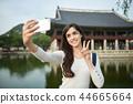 婦女,景福宮宮殿,漢城,紫禁城,旅行 44665664