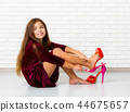 shoe, girl, child 44675657