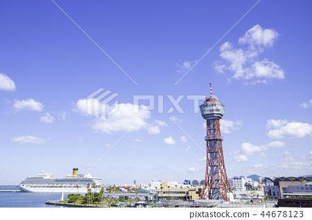 博多港博多港塔的象徵 44678123