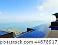 琵琶湖 露天陽台 露天庭院 44678917