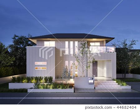 訂購房子珀斯夜景 44682404