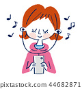music musical listening 44682871