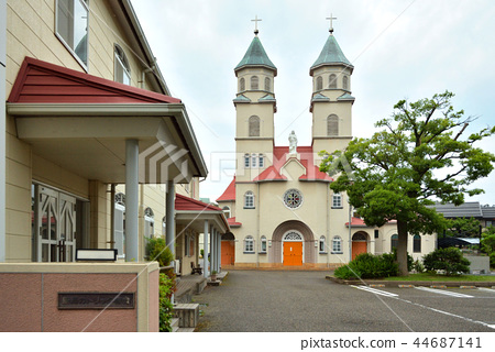 Niigata City Walk: Niigata Catholic Church 44687141