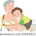 Care helper bathing help 44689822
