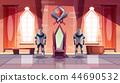 Royal throne in castle or museum cartoon vector 44690532