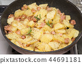 감자, 덩이줄기 채소, 조리 44691181