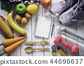 fitness concept with Exercise Equipment  44696637