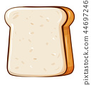 vector bakery icon 44697246