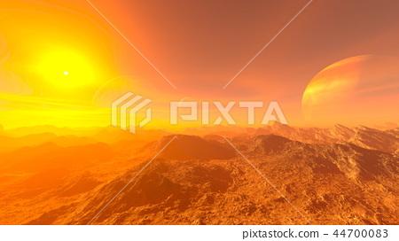 Sunset wilderness 44700083