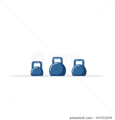 Set of kettlebells  44701844