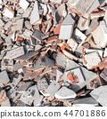 Construction debris 44701886